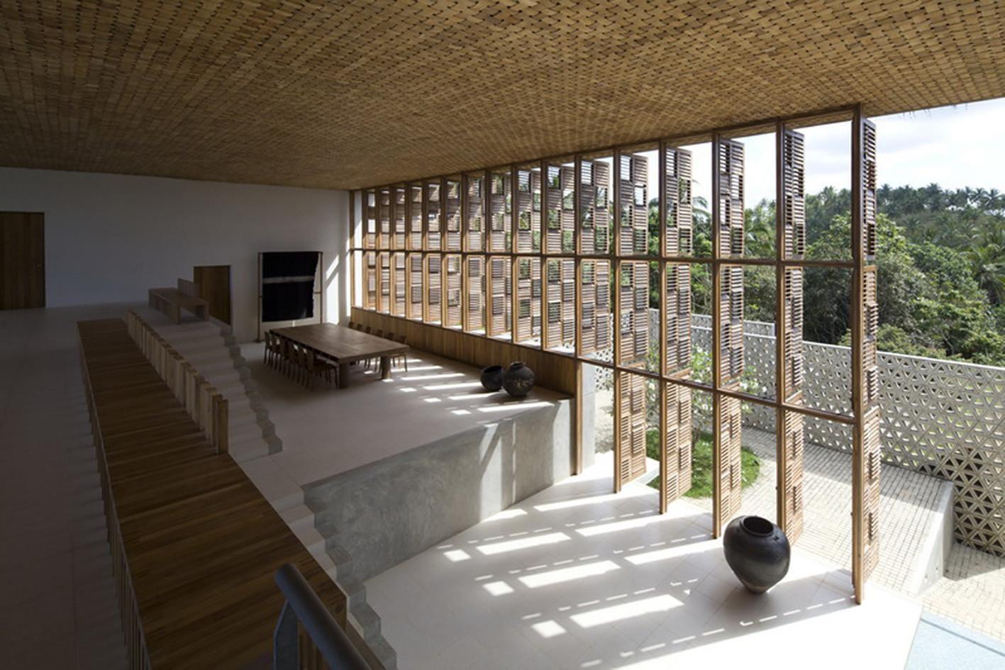 Ideada por el estudio Shigeru Ban Architects