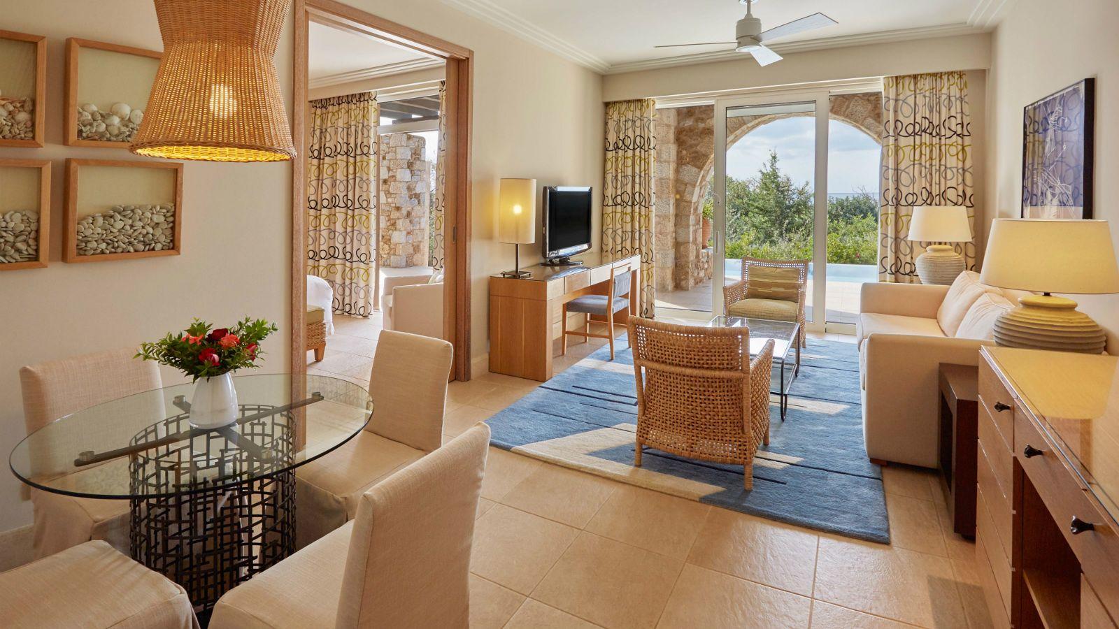 Villas y suites en este hotel de lujo