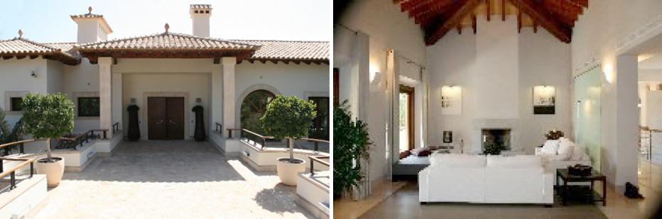La vivienda que se ha vendido cuenta con una parcela de 13.000 m2, con 3.000 m2 habitables divididos en tres casas