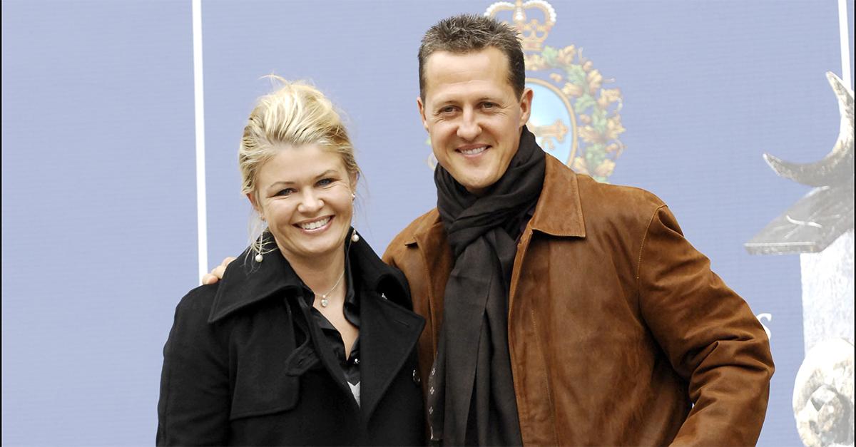 La pareja Schumacher durante la celebración del premio Príncipe de Asturias 2007