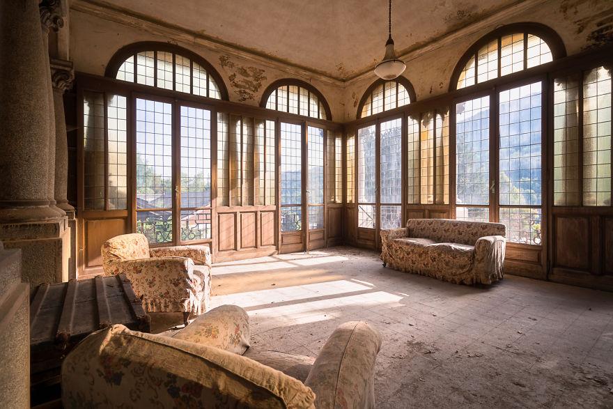 Las vistas que ofrece este salón son espectaculares