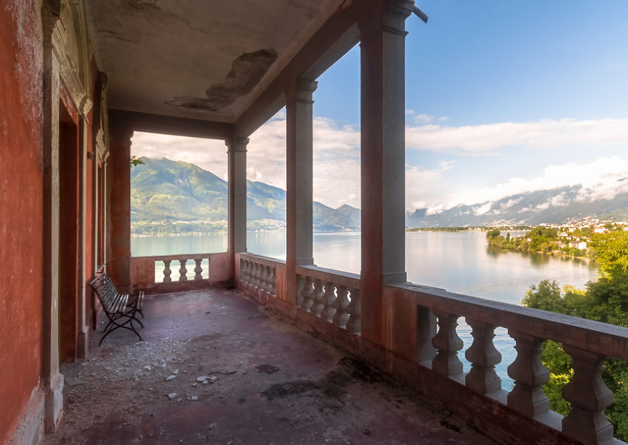 Un balcón con unas vistas preciosas