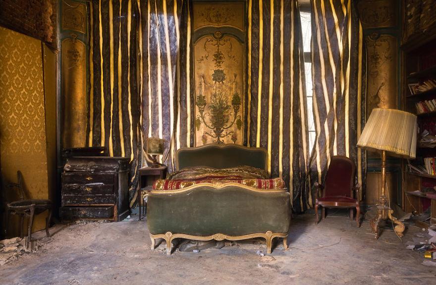 ¿Quién habrá dormido aquí?