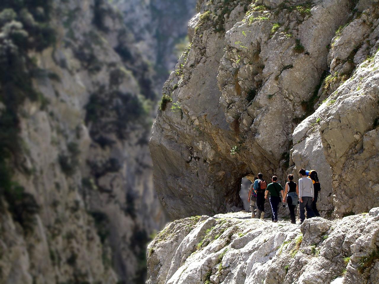Ruta del Cares en los Picos de Europa