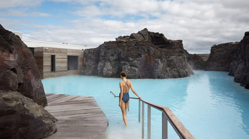 Acceso al spa / The Retreat at Blue Lagoon