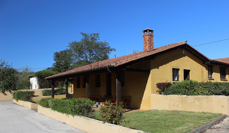 Una de las casas