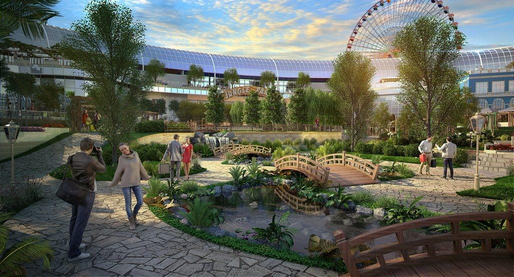 Incluirá un teatro, un hipermercado y un parque acuático