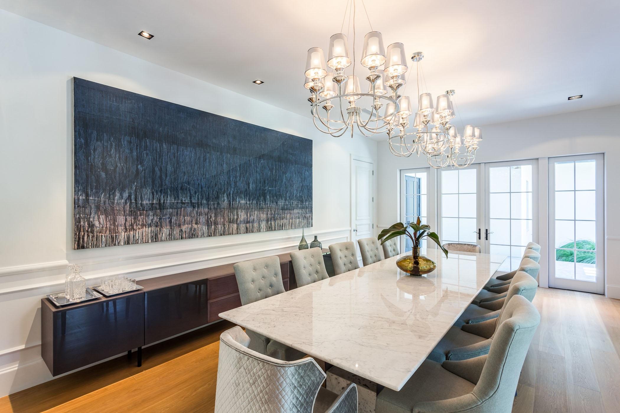 Una mesa espectacular para recibir invitados