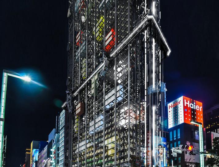 Un rascacielos de viviendas modulares / Haseef Raifei