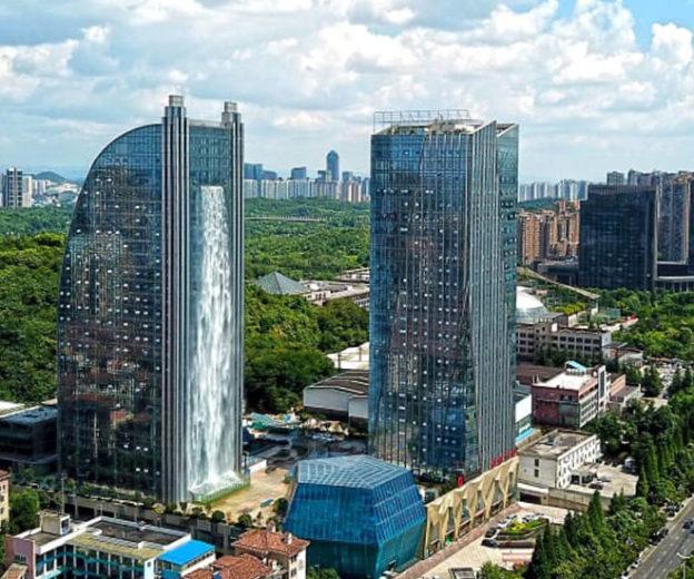 Vista general desde otro ángulo / Liebian Building