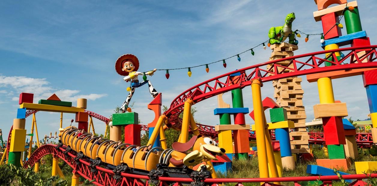 """El perro de Woody da nombre a la atracción: """"Slinky Dog Dash"""""""