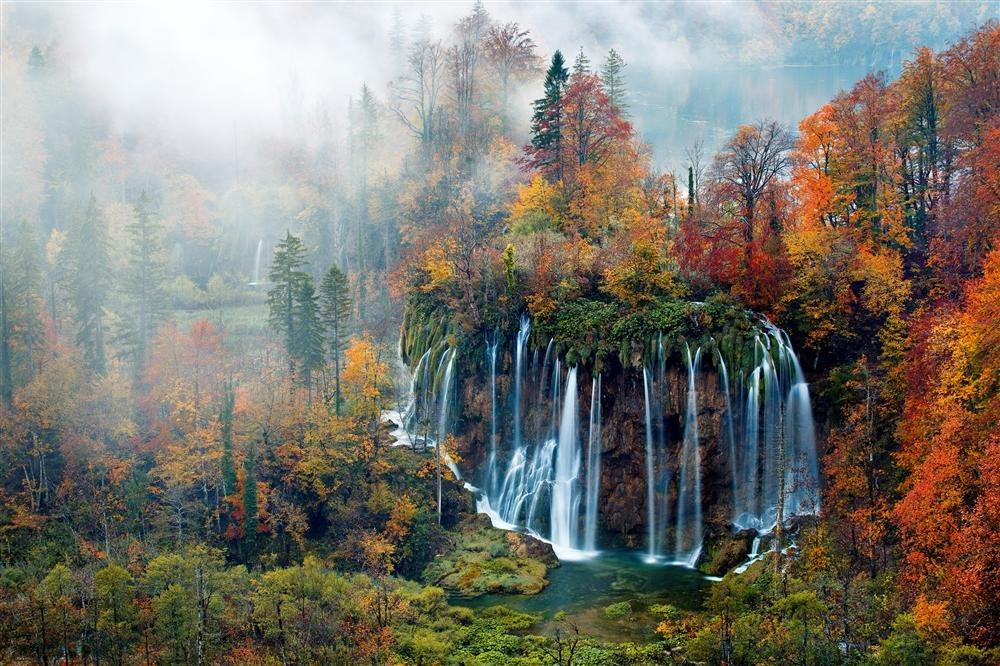Parque Nacional de los lagos de Plitvice, Croacia / National Geographic