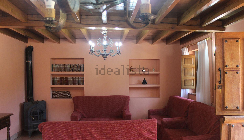 Sala de estar de un alojamiento