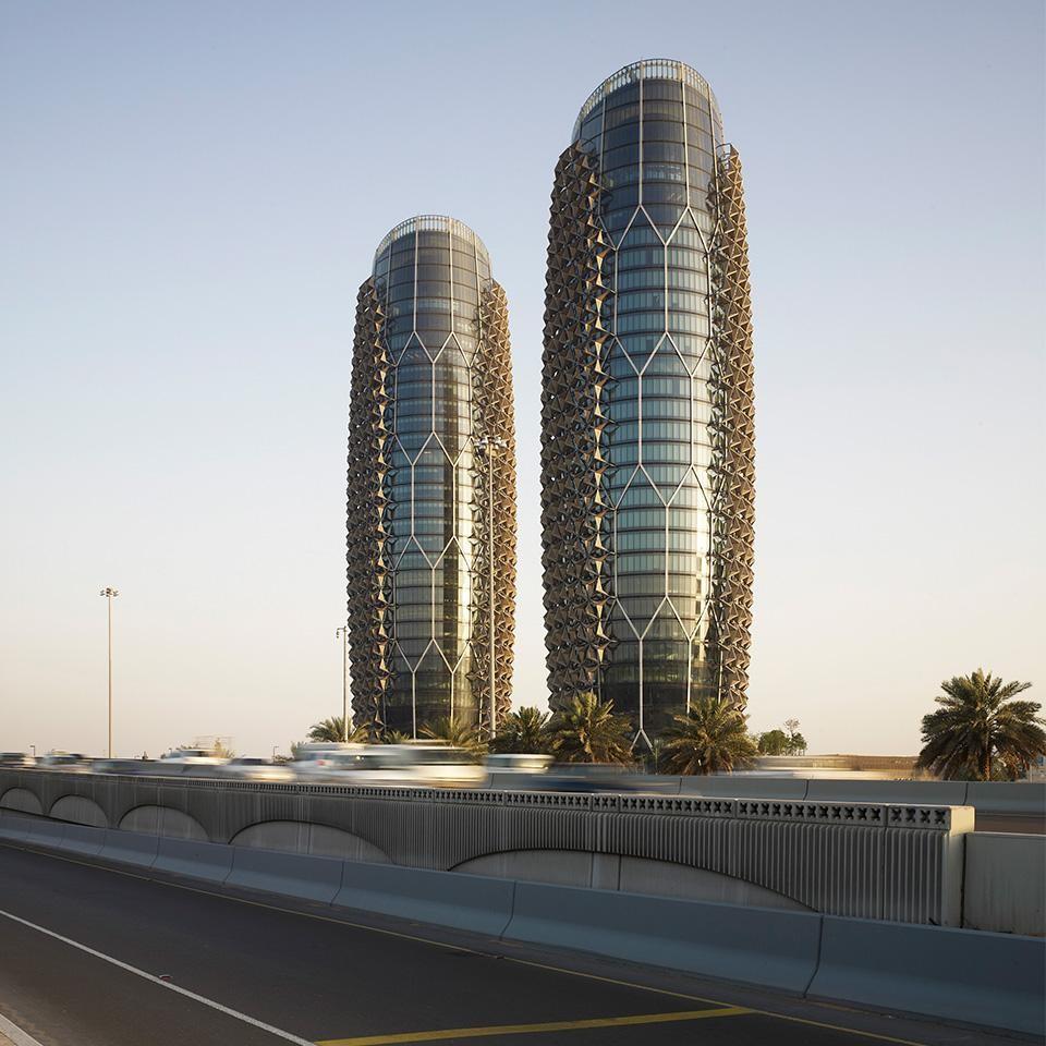 Diseñadas por la firma británica AHR Architecture
