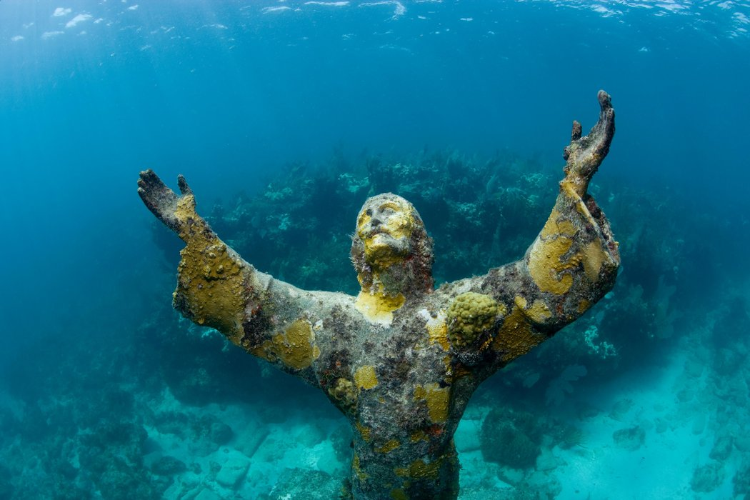 Cristo del Abismo de Cayo Largo (Florida) / GETTY IMAGES / AURORA CREATIVE