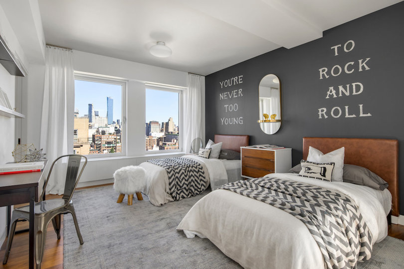 Dormitorio doble / Douglas Elliman