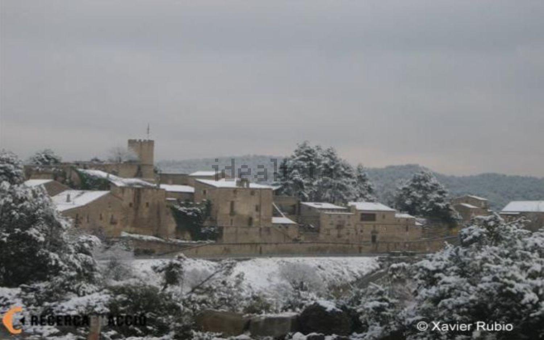 El castillo durante el invierno / Xavier Rubio
