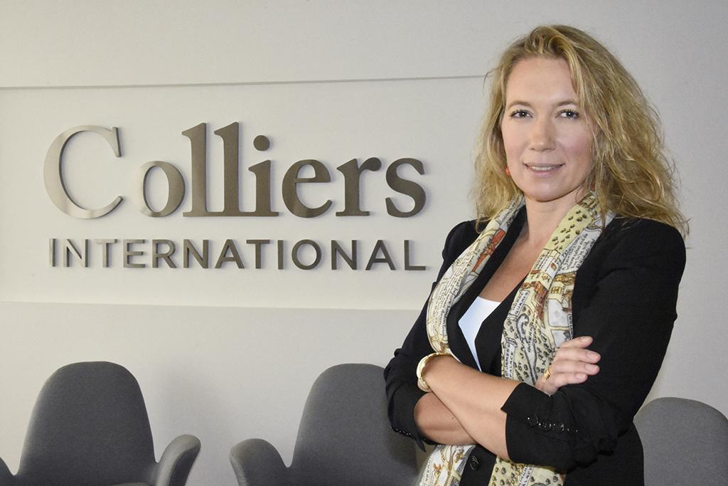 Esperanza de Justo, directora de desarrollo de negocio en Colliers
