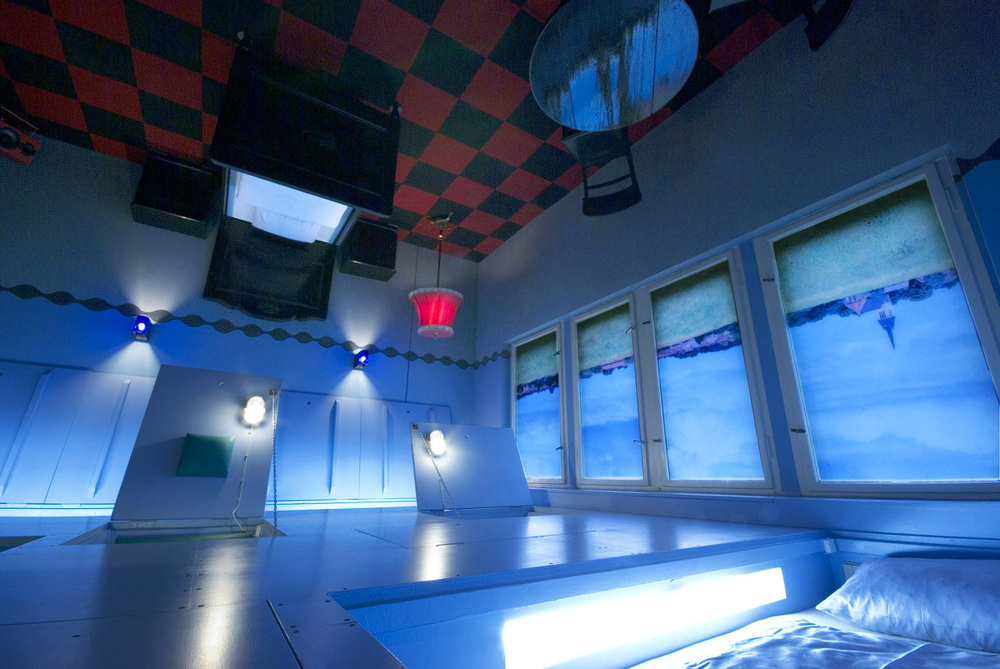 La habitación al revés / Lars Stroschen / Propeller Island City Lodge