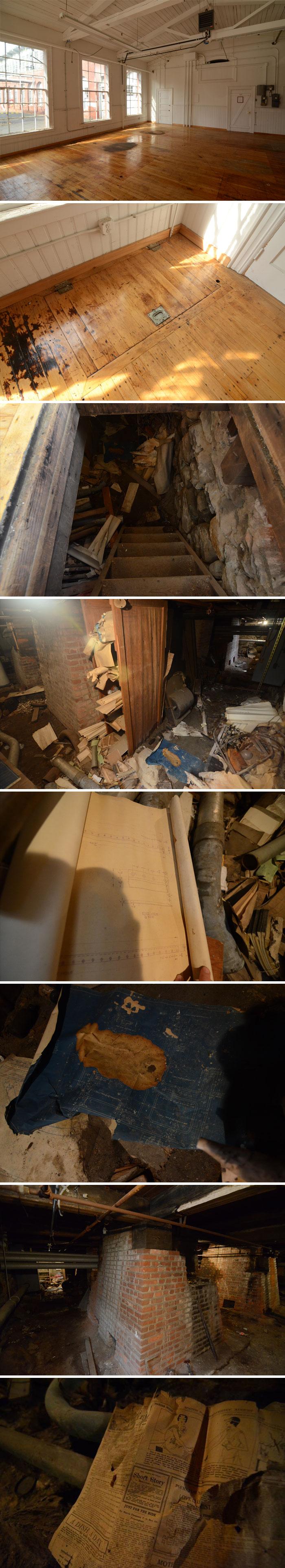 Estos inquilinos encontraron un sótano digno de las películas de terror más escalofriantes / Bored Panda