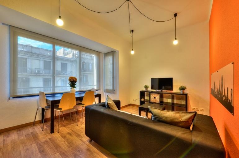 Salón / Foto: Bcn Design Flats