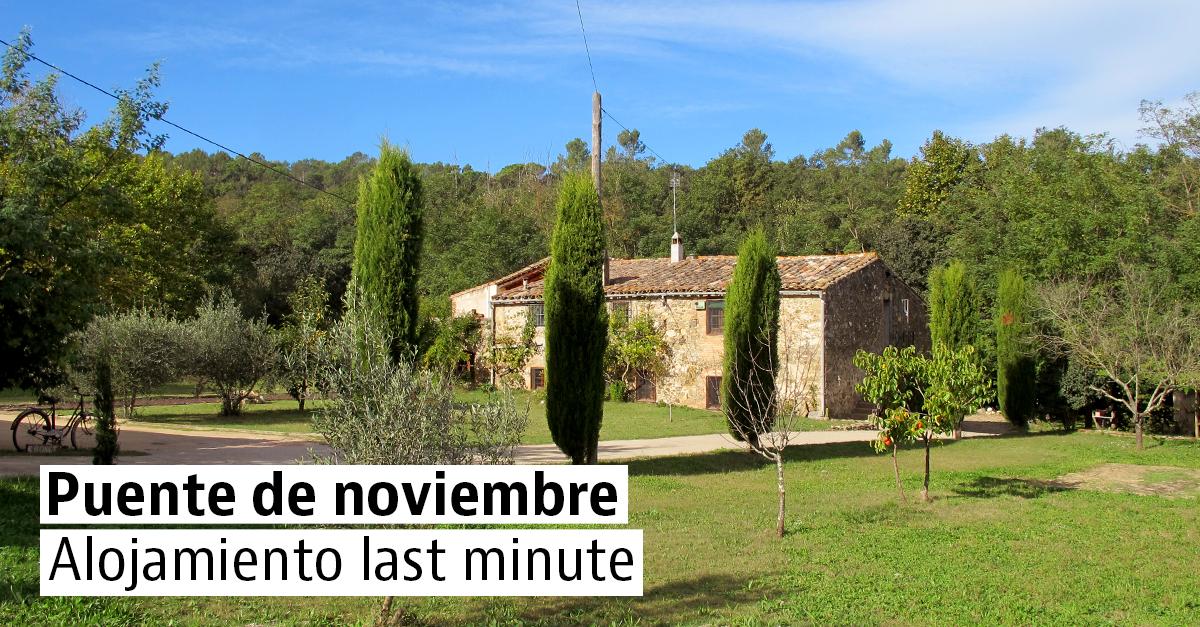 Casas rurales de última hora para escaparte el puente de noviembre