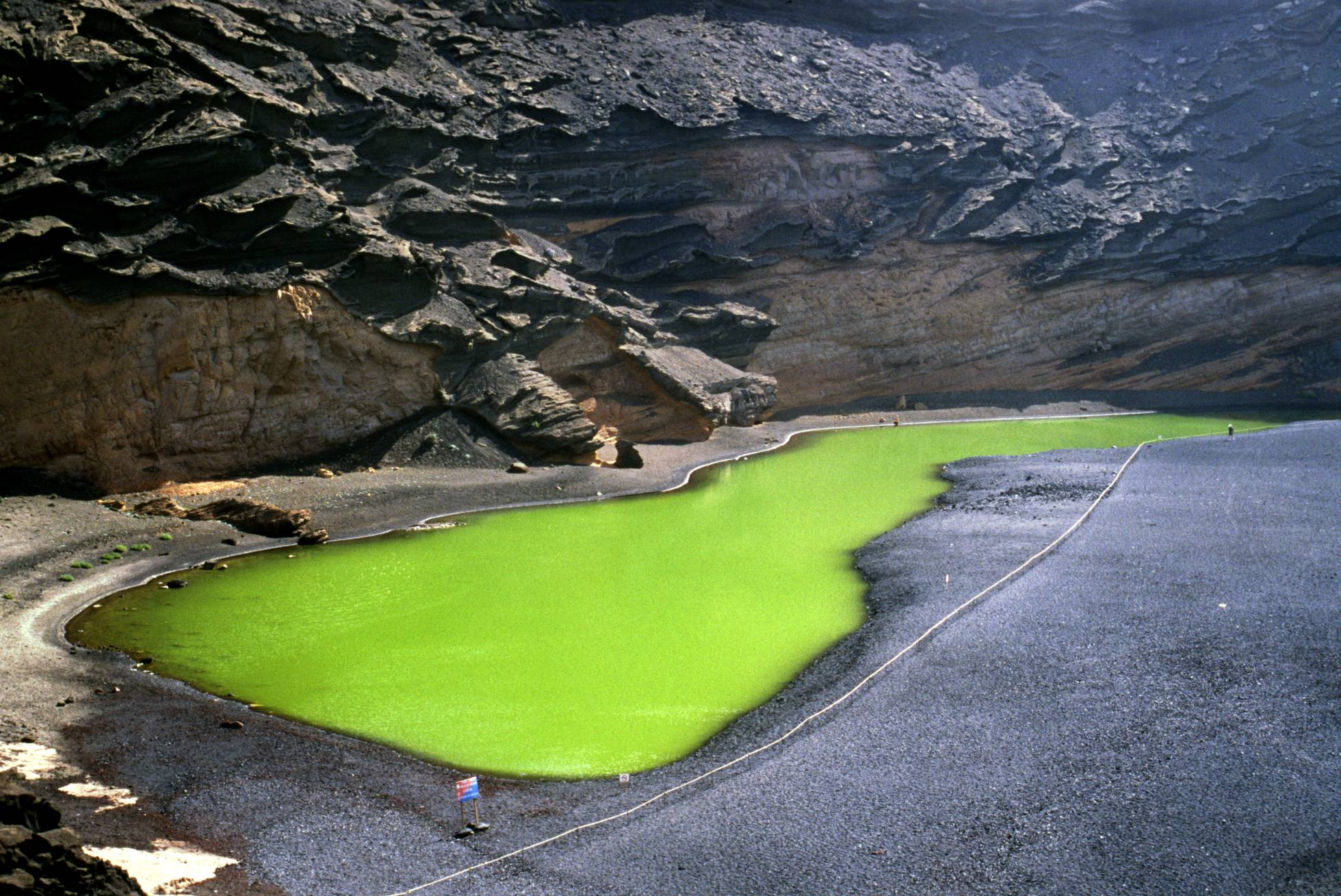Charco de los Clicos (Lanzarote)  / ALAN CRAWFORD / GETTY IMAGES