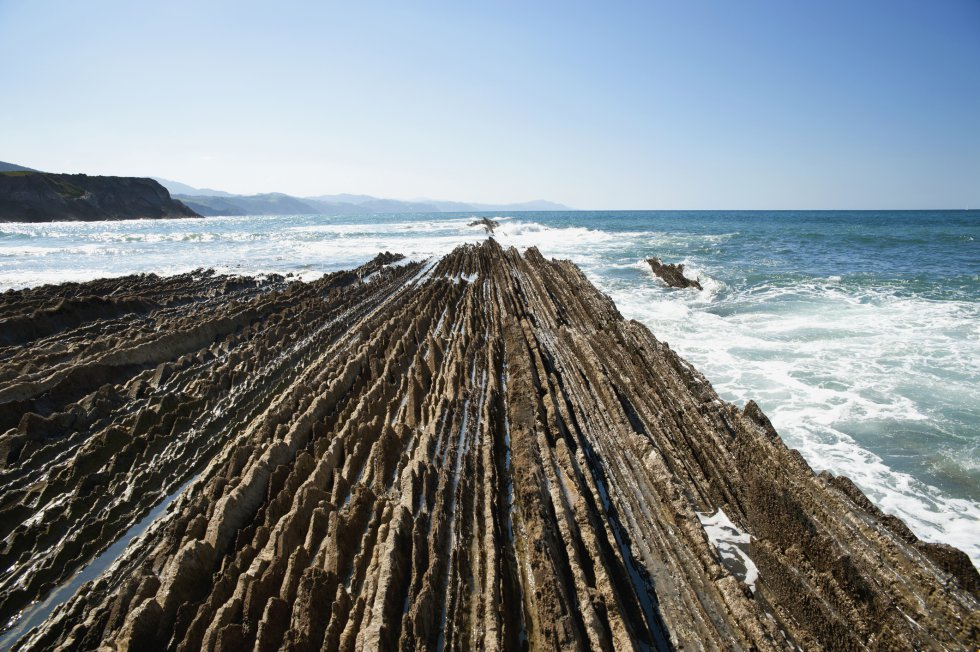 'Flysch' de Zumaia (Guipúzcoa)  /  GETTY IMAGES