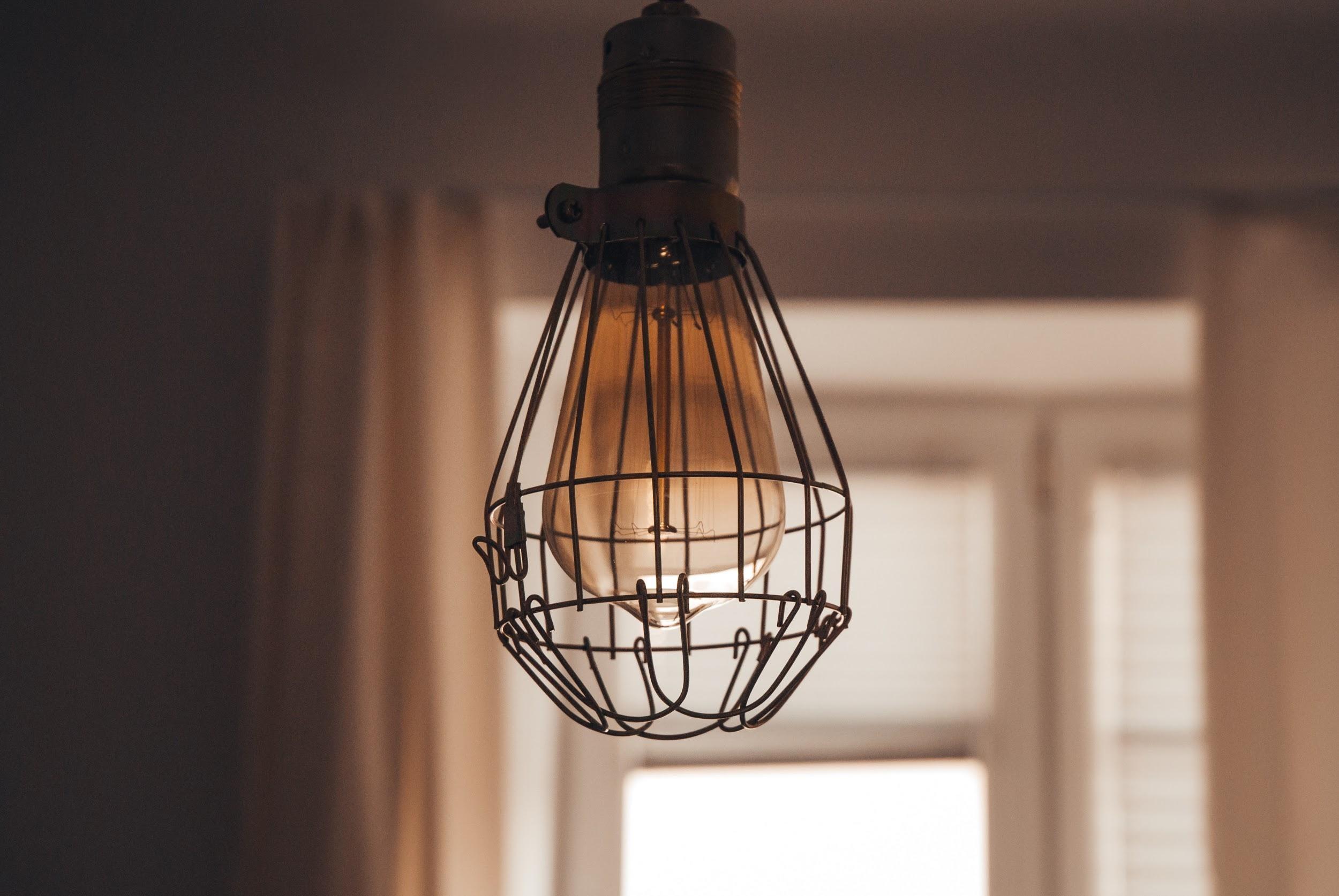 Una idea: jugar con la altura de las lámparas