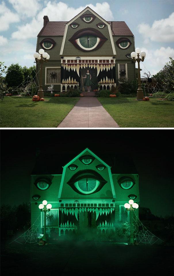 Una casa monstruo  / Bored Panda