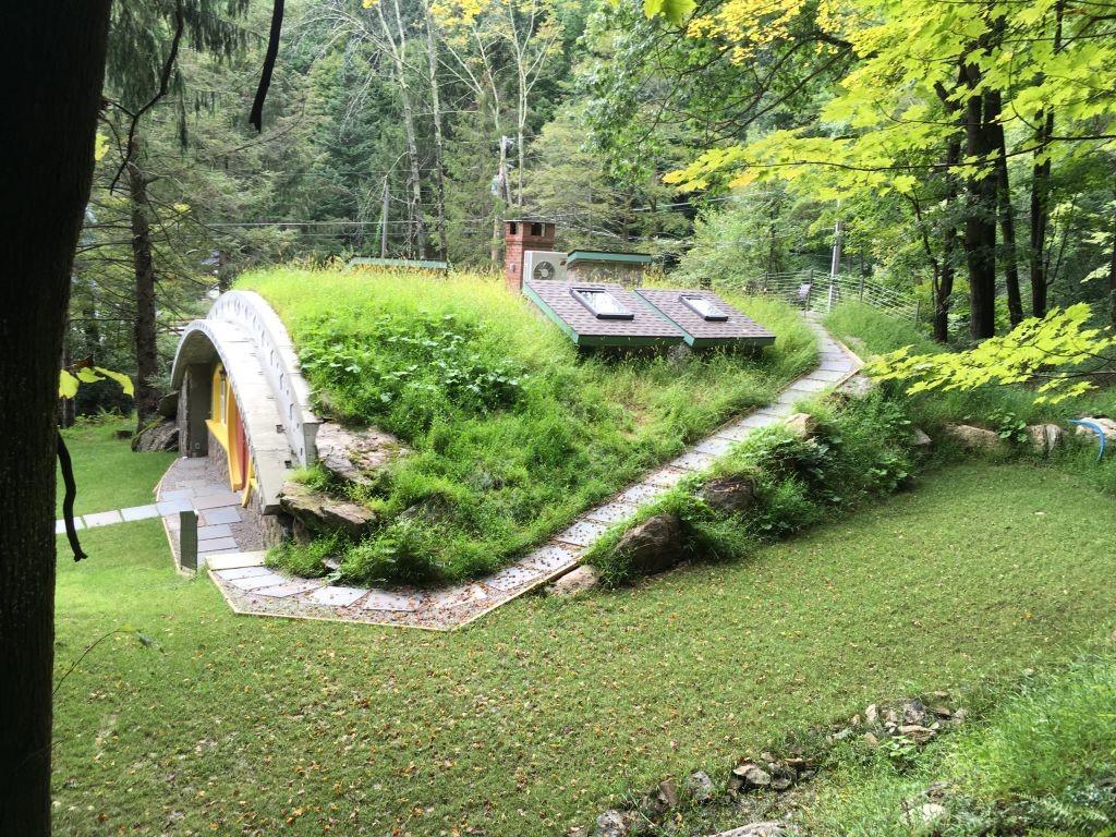 Es una casa energéticamente sostenible