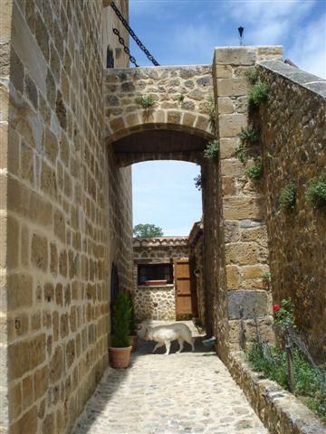 Interior del recinto amurallado / Castilloenventa.es