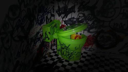 ¿Le ayudas a salir? / Toilets With Threatening Auras