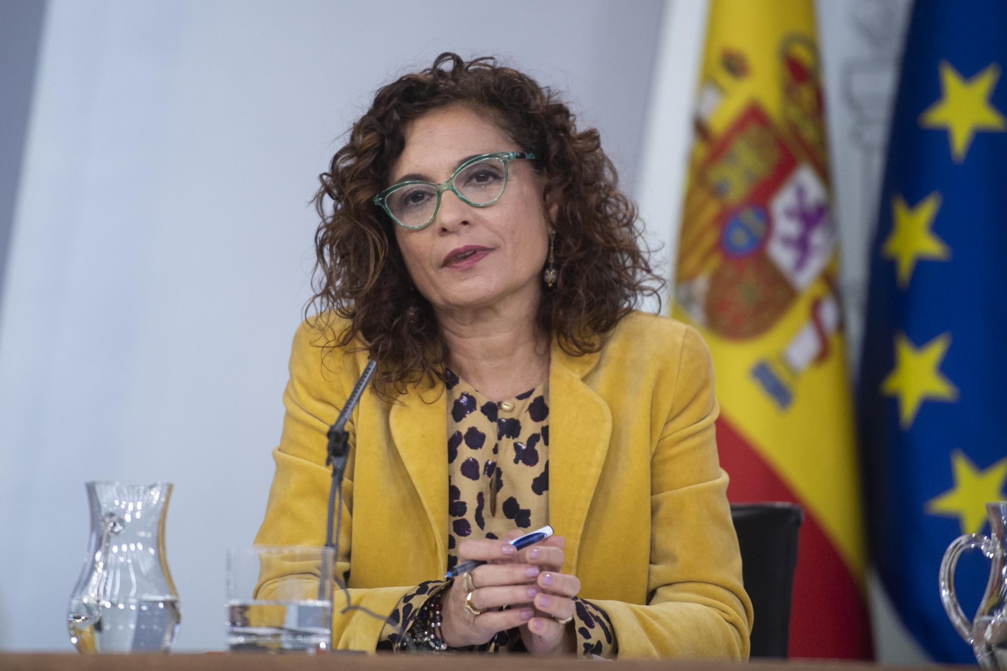 María Jesús Montero, ministra de Hacienda / Fuente: La Moncloa