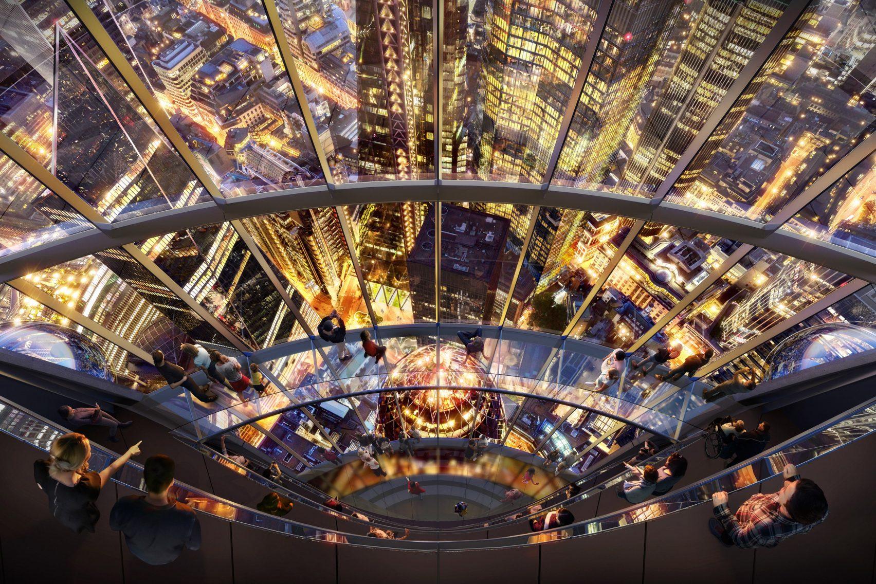 Se trata de un rascacielos de vidrio de 305 metros de altura  / DBOX for Foster + Partners