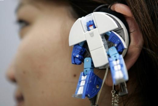 Auriculares robot  / JotForm