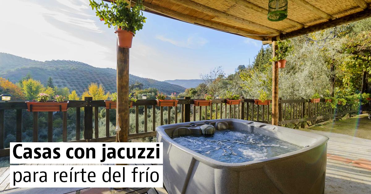 Casas rurales con jacuzzi para sobrellevar el frío