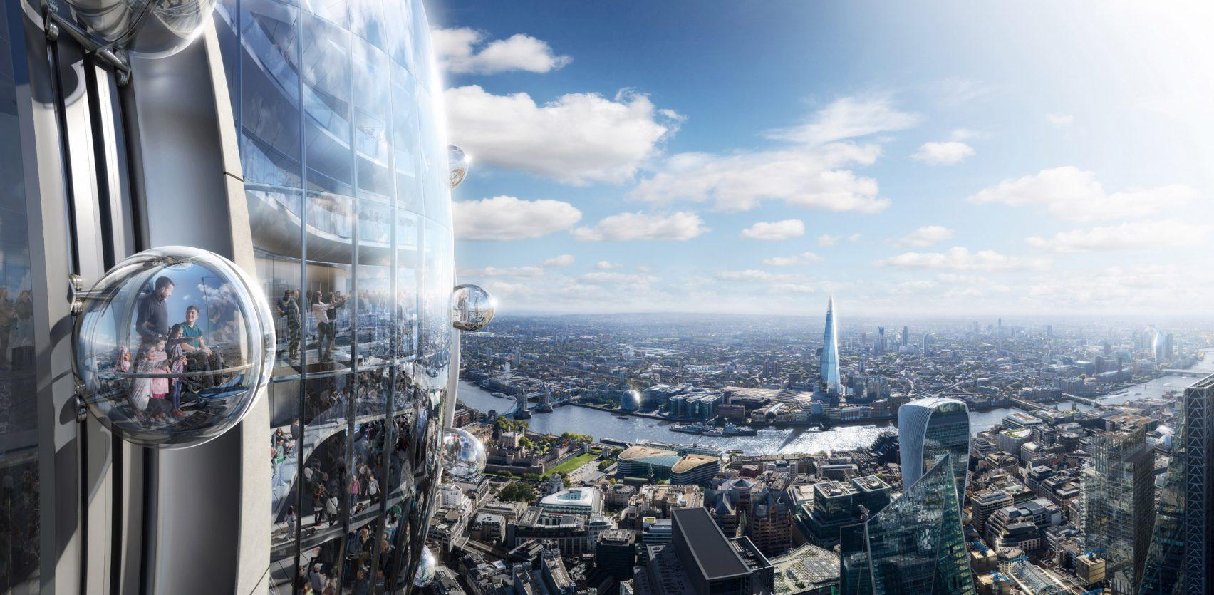 Se espera que la construcción de The Tulip comience en 2020 y finalice en 2025 / DBOX for Foster + Partners