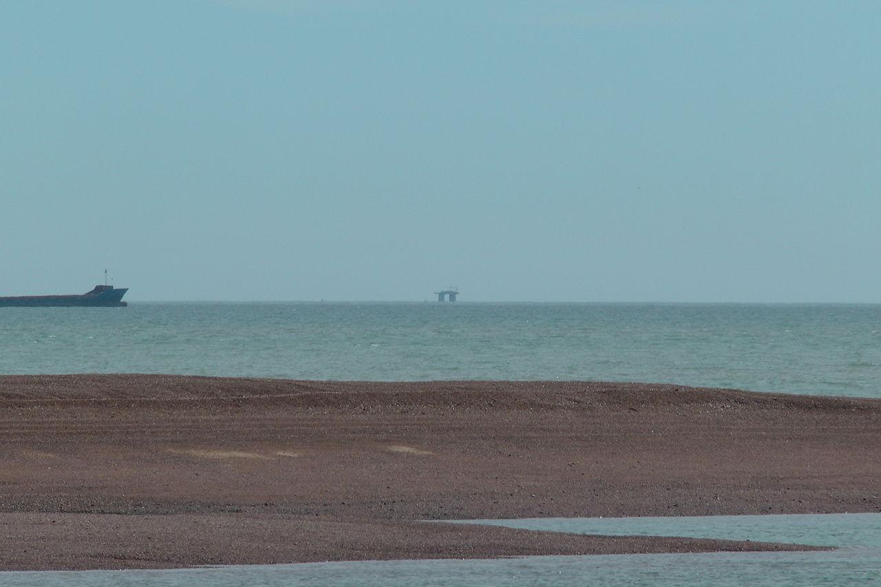 La plataforma marina Roughs Tower / Wikimedia Commons