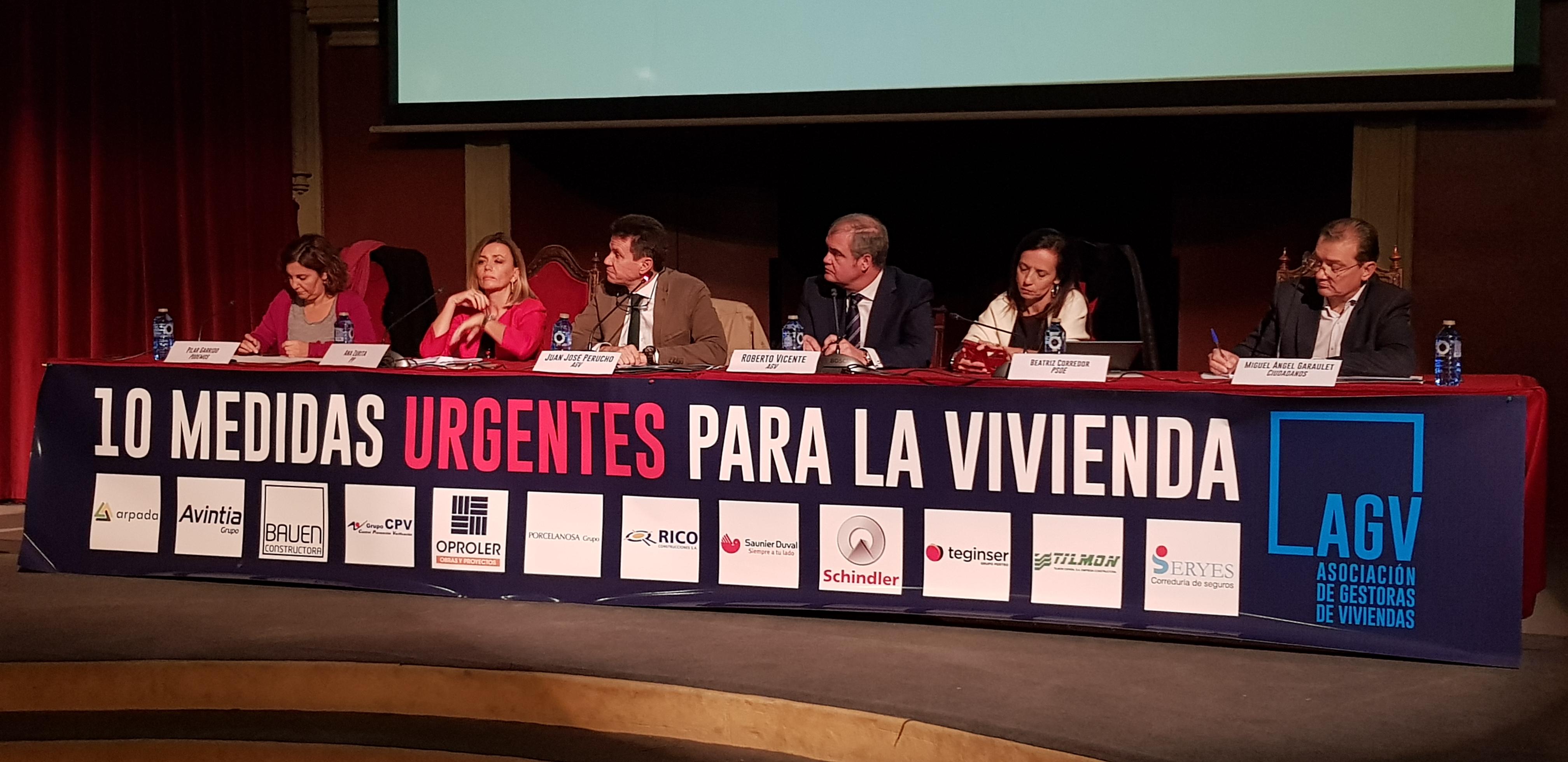 Fotografía del evento / Asociación de Gestoras de Viviendas (AGV)