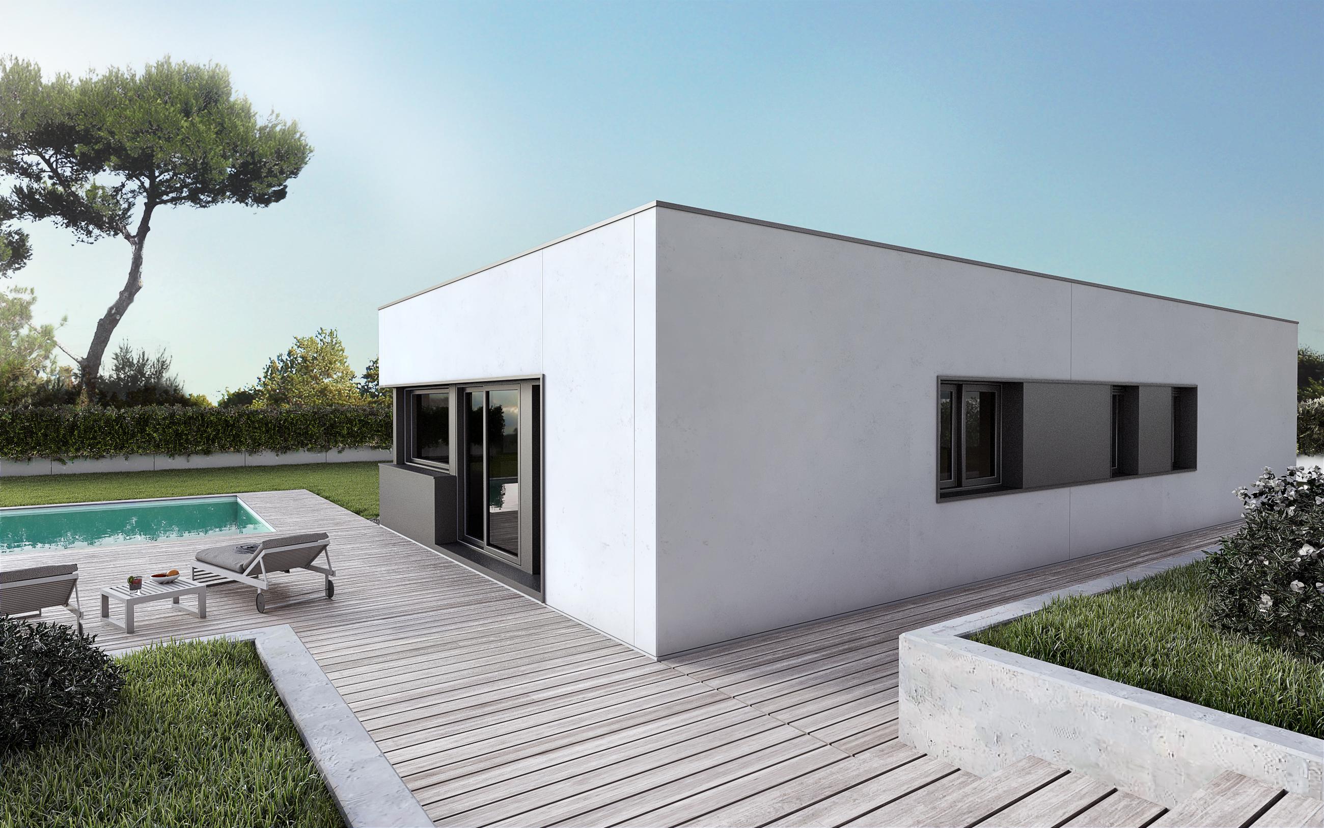 Cu nto cuesta una casa prefabricada precios y modelos - Presupuesto casa prefabricada ...
