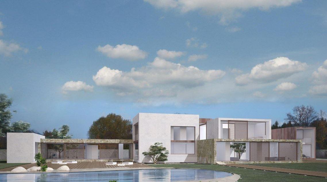 Exterior del modelo Marbella / inHAUS
