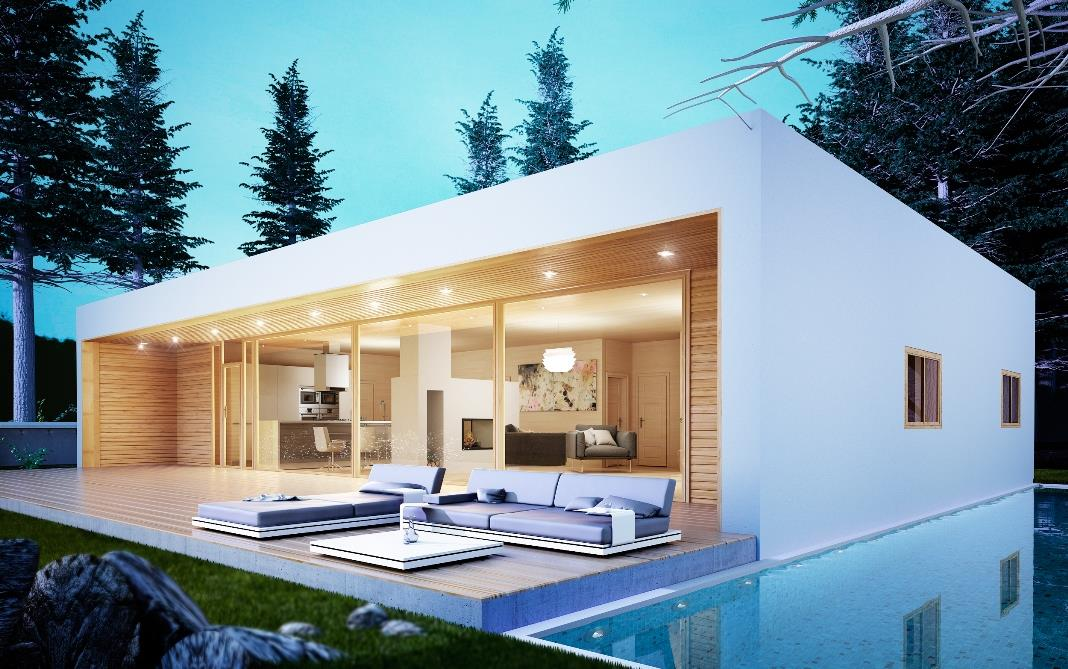 Modelo 150 m2 desde 45.200 euros + IVA / Norge Hus