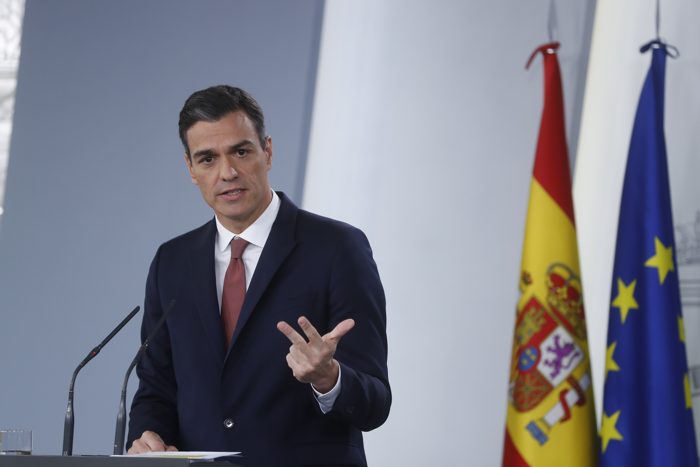 Pedro Sánchez, presidente del Gobierno / Gtres