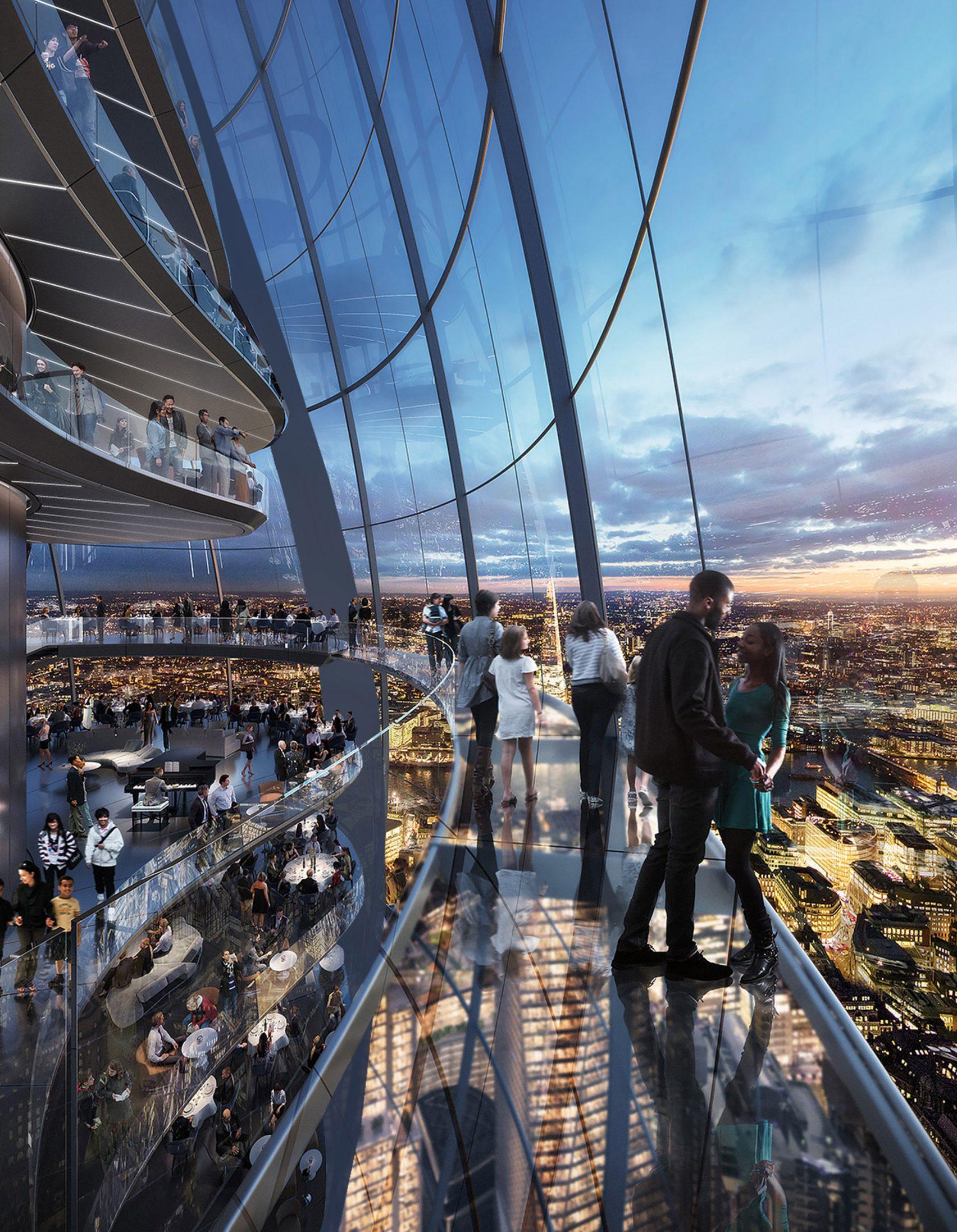 Norman Foster ha sido en el encargado de diseñar el edificio / DBOX for Foster + Partners