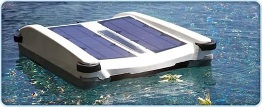Limpiador de piscinas con energía solar / JotForm
