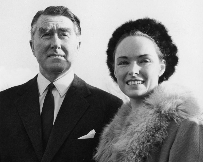 Paddy Roy Bates y su mujer Joan / Wikimedia Commons