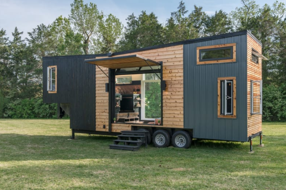 The Escher Tiny House, New Frontier Tiny Homes / New Frontier Tiny Homes via Apartment Therapy