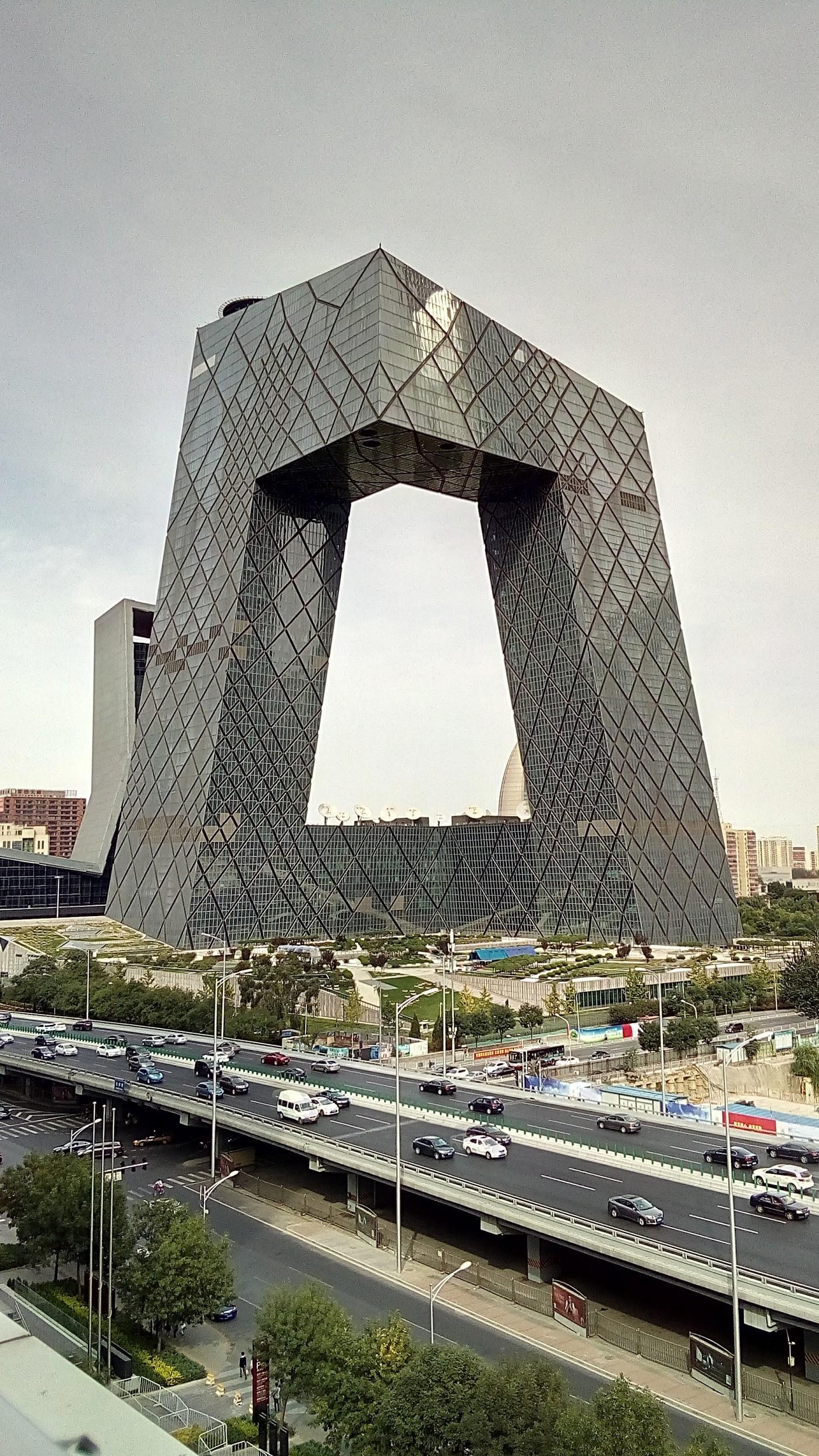 Es la sede de la televisión china