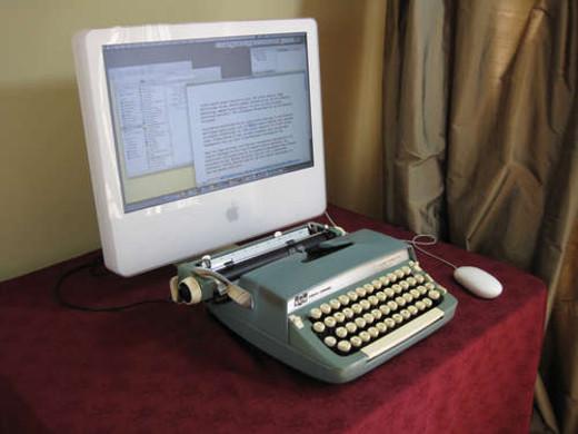 Usb máquina de escribir / JotForm